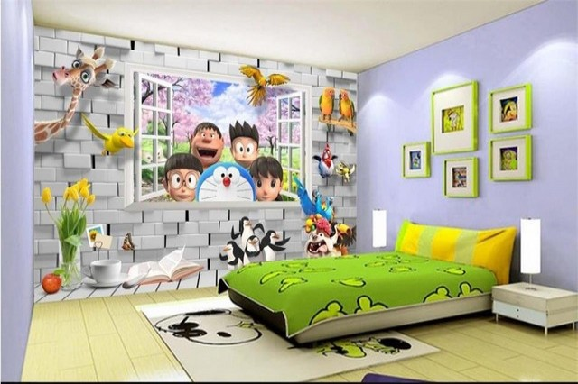 artikel 8 Tips Tepat Pilih Wallpaper Dinding Kamar Anak