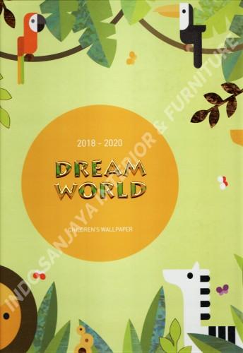 wallpaper buku DREAM WORLD tahun 2018