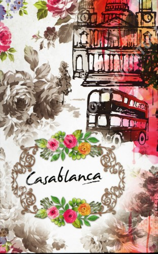 wallpaper buku CASABLANCA tahun 2018