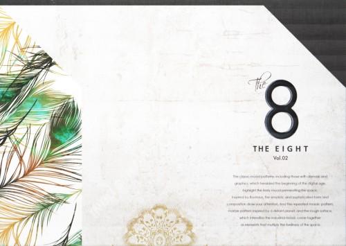 wallpaper buku THE EIGHT tahun 2018