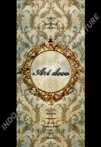 wallpaper buku ART DECO tahun 2019