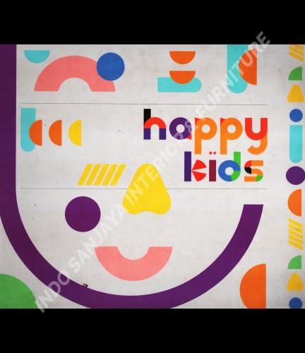 wallpaper buku Happy Kids tahun 2019