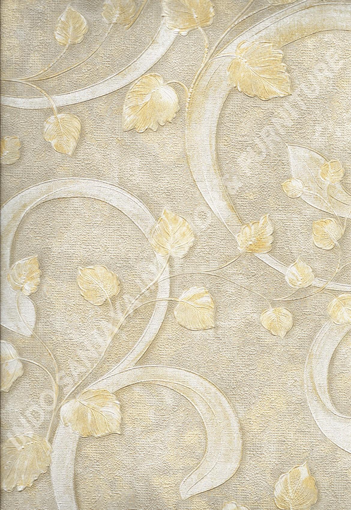 wallpaper   Wallpaper Klasik Batik (Damask) DL10402:DL10402 corak  warna