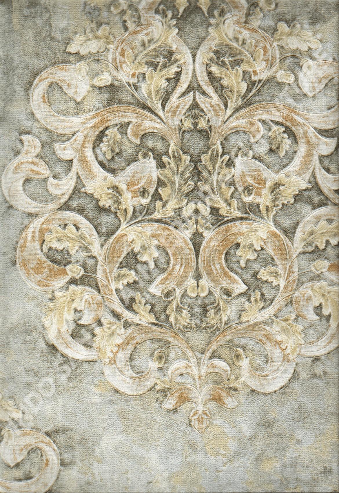 wallpaper   Wallpaper Klasik Batik (Damask) DL10302:DL10302 corak  warna