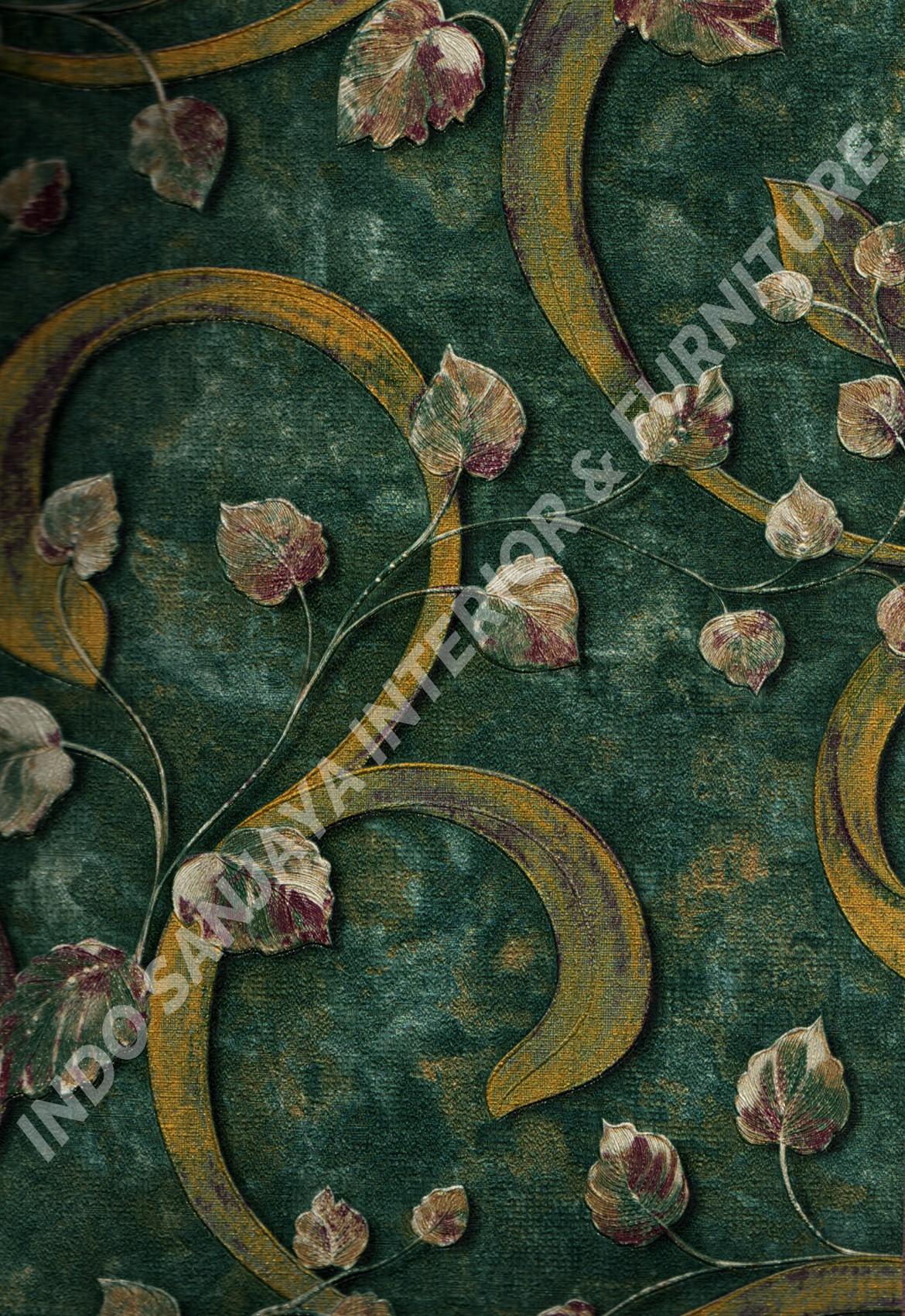 wallpaper   Wallpaper Klasik Batik (Damask) DL10403:DL10403 corak  warna