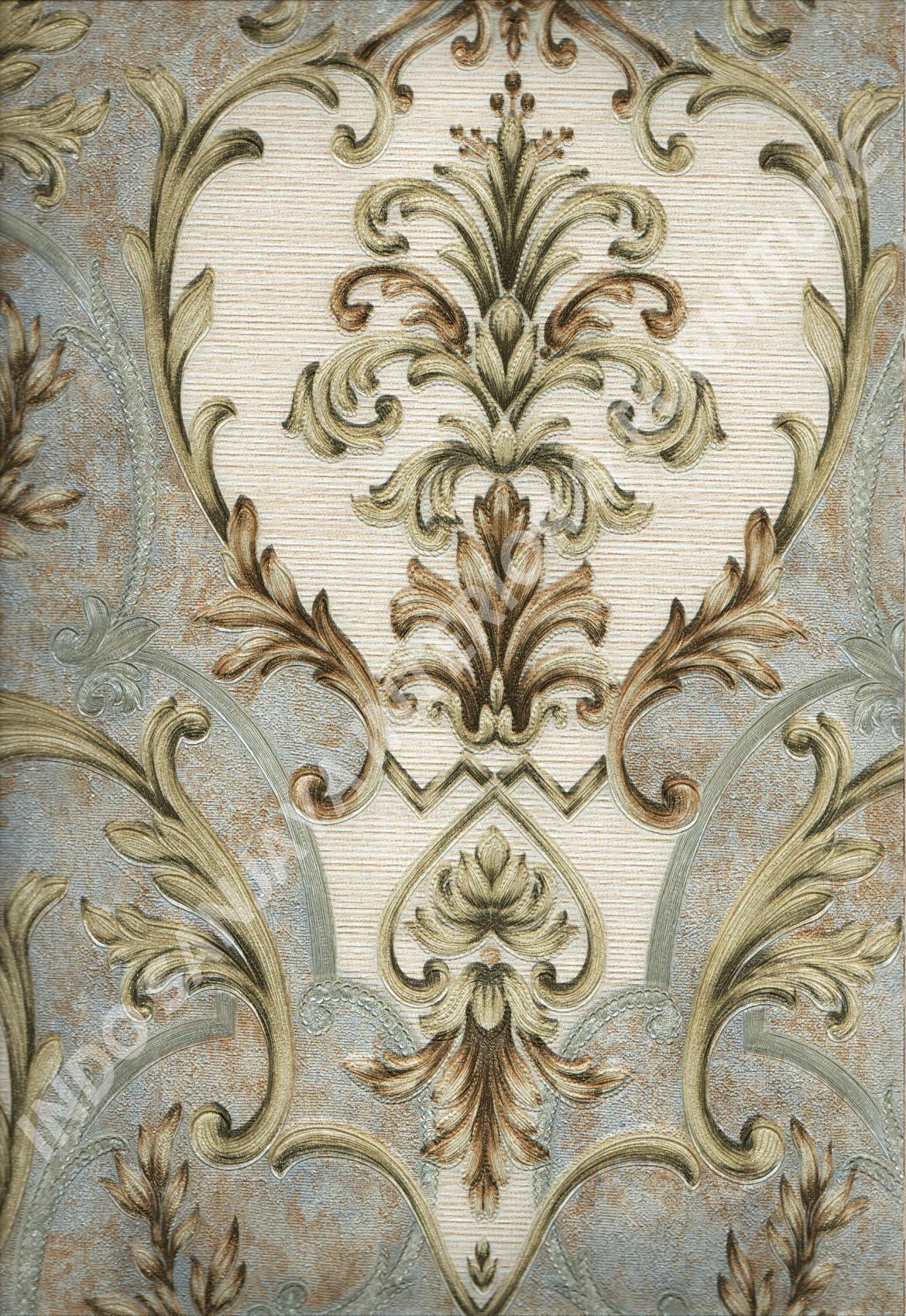 wallpaper   Wallpaper Klasik Batik (Damask) DL11001:DL11001 corak  warna