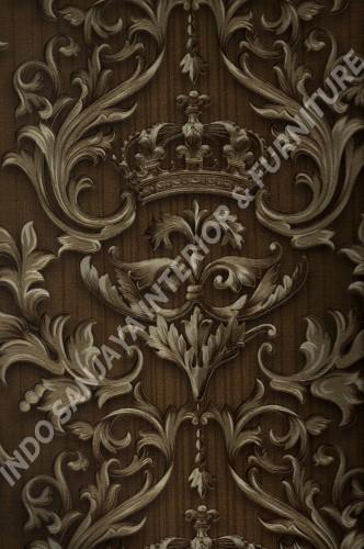 wallpaper   Wallpaper Klasik Batik (Damask) 2574-5:2574-5 corak  warna