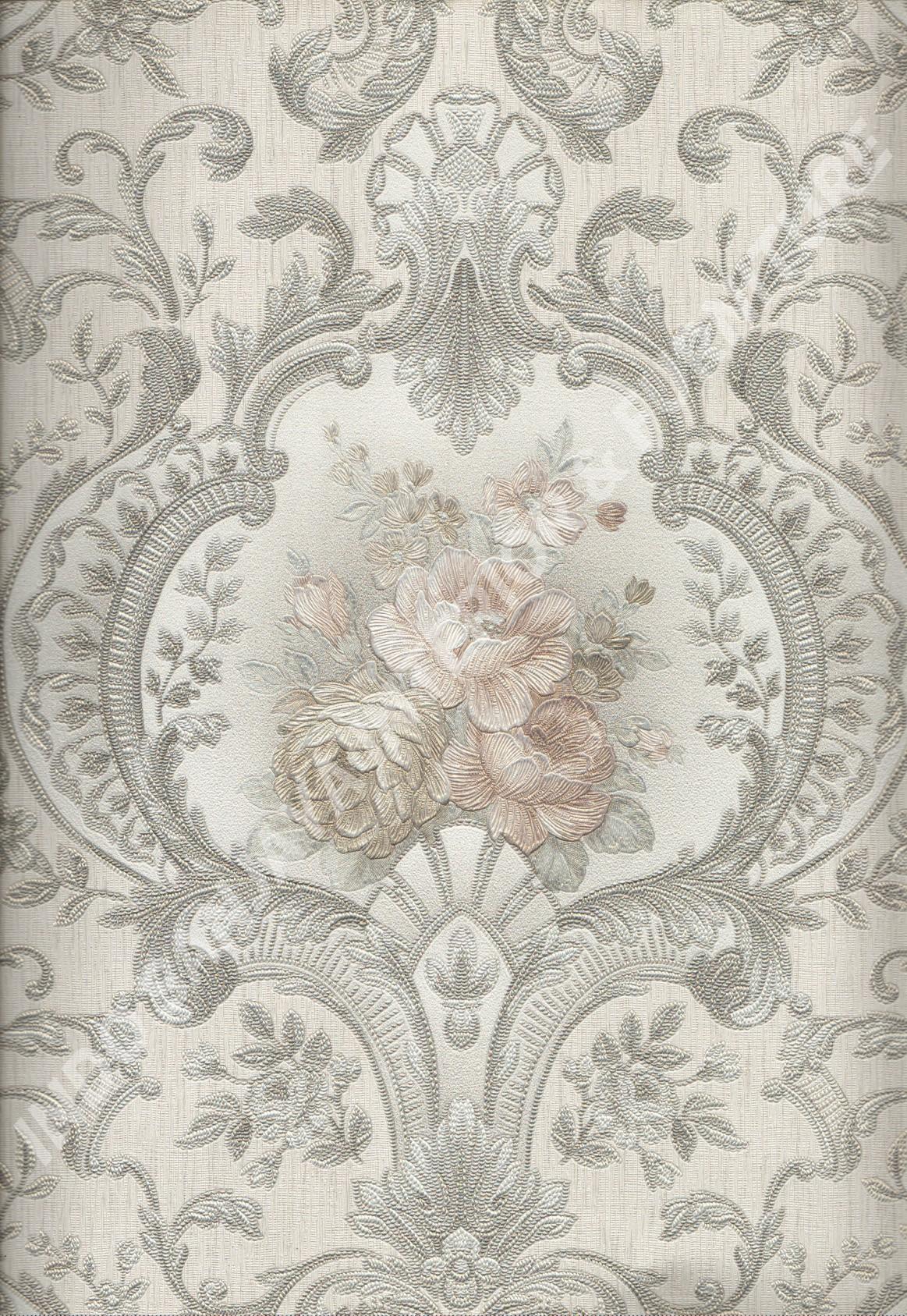 wallpaper   Wallpaper Bunga 4003-1:4003-1 corak  warna
