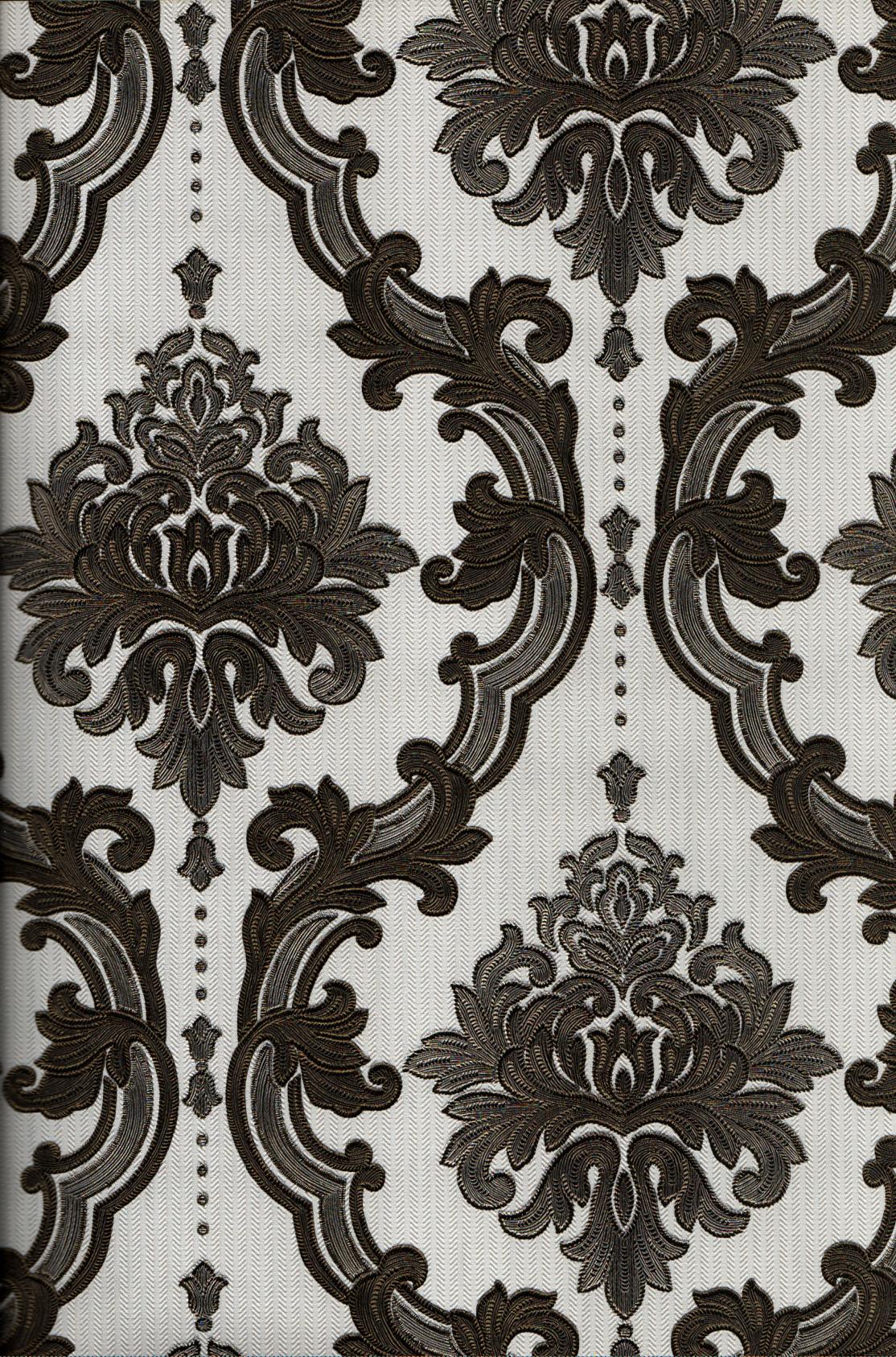 wallpaper   Wallpaper Klasik Batik (Damask) 4005-6:4005-6 corak  warna