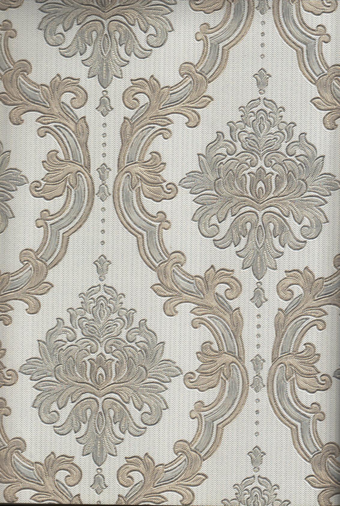 wallpaper   Wallpaper Klasik Batik (Damask) 4005-1:4005-1 corak  warna