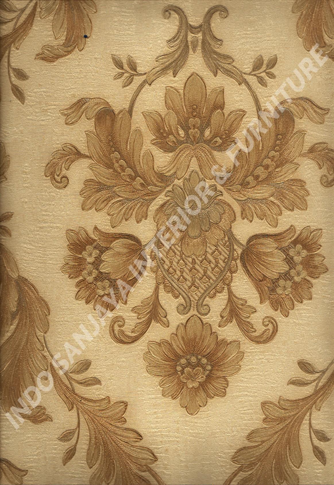 wallpaper   Wallpaper Klasik Batik (Damask) 51006-3:51006-3 corak  warna