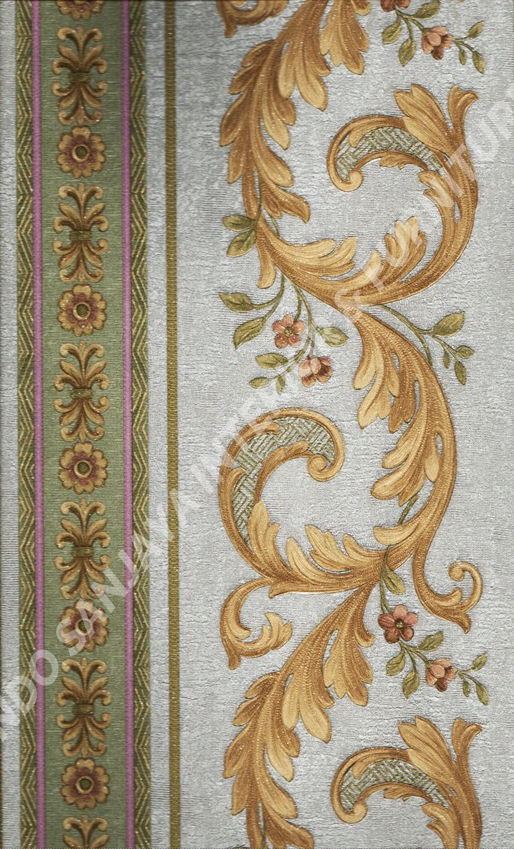 wallpaper   Wallpaper Klasik Batik (Damask) 51007-4:51007-4 corak  warna