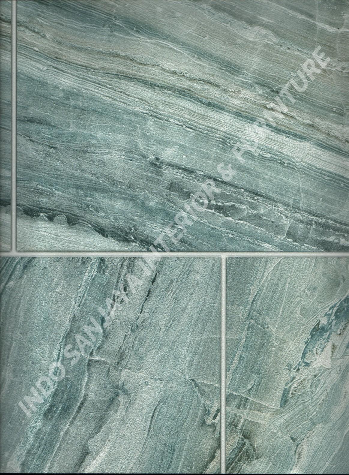 wallpaper ASSEMBLE:40117-3 corak Batu-Batuan ,Minimalis / Polos warna Biru