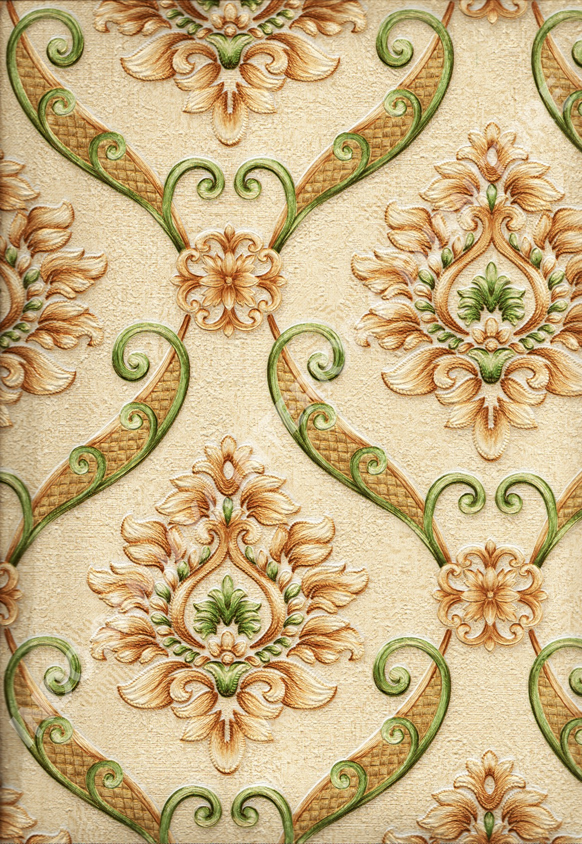 wallpaper   Wallpaper Klasik Batik (Damask) IS1822:IS1822 corak  warna