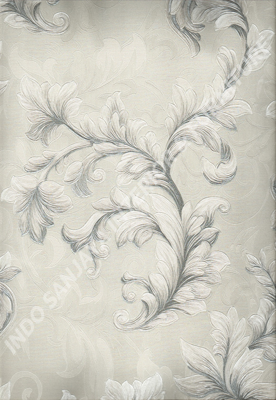 wallpaper   Wallpaper Klasik Batik (Damask) 87063:87063 corak  warna