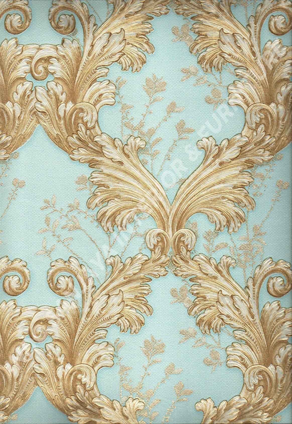 wallpaper   Wallpaper Klasik Batik (Damask) 87024:87024 corak  warna