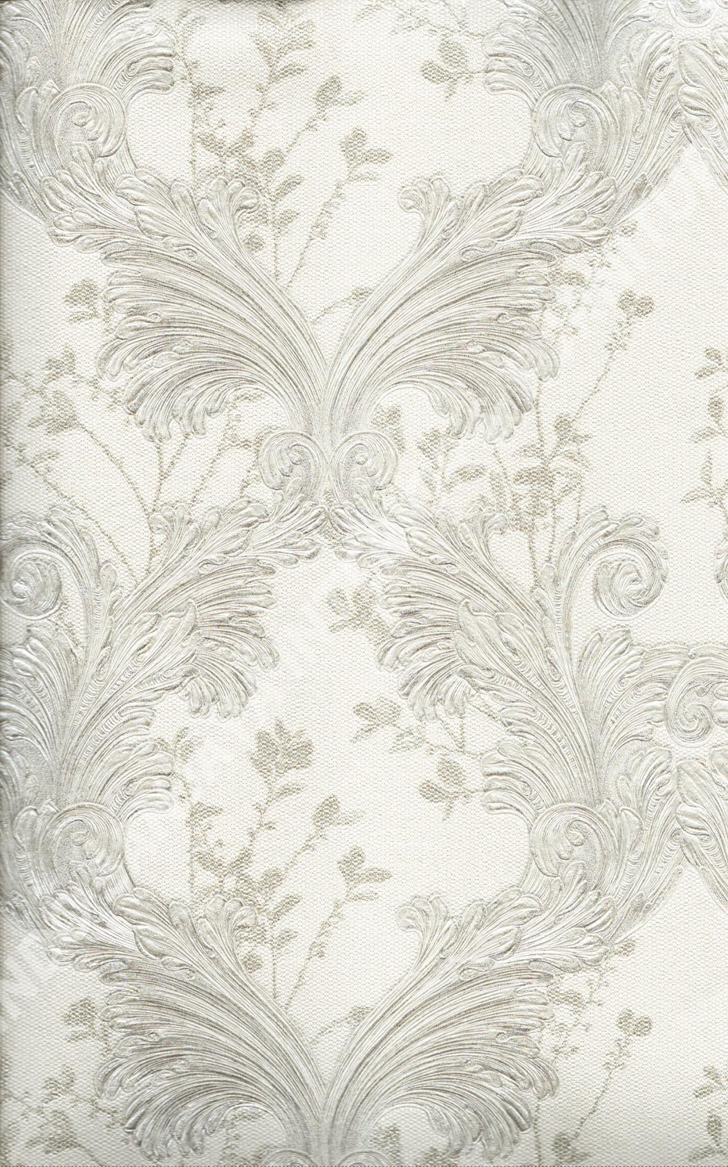 wallpaper   Wallpaper Klasik Batik (Damask) 87021:87021 corak  warna