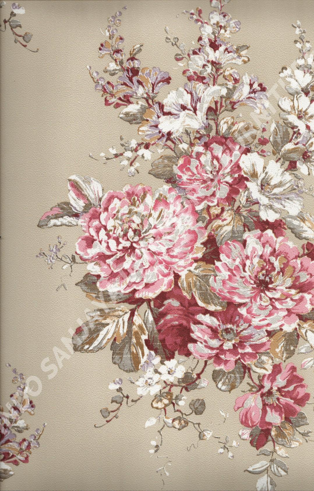wallpaper   Wallpaper Bunga 8816:8816 corak  warna
