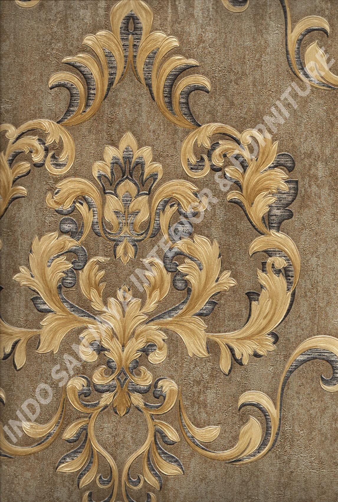 wallpaper   Wallpaper Klasik Batik (Damask) YG80504:YG80504 corak  warna