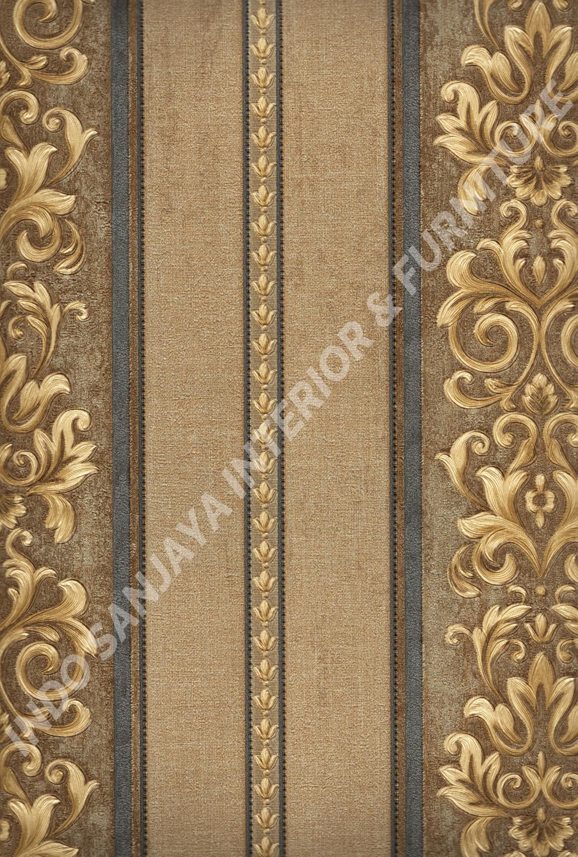 wallpaper   Wallpaper Klasik Batik (Damask) 80604:80604 corak  warna