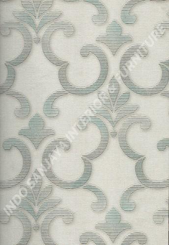 wallpaper   Wallpaper Klasik Batik (Damask) 10028-1:10028-1 corak  warna