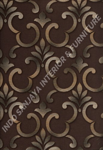 wallpaper   Wallpaper Klasik Batik (Damask) 10028-2:10028-2 corak  warna