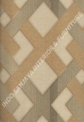 wallpaper SELECTION:10031-2 corak Modern / 3D warna Cream,Coklat