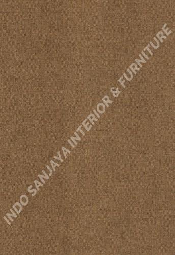 wallpaper RENALDO:RU32312 corak Minimalis / Polos warna Coklat