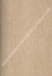 wallpaper RENALDO:MI15603 corak Minimalis / Polos warna Cream,Coklat