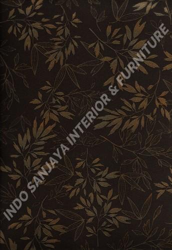 wallpaper   Wallpaper Daun Daunan 88230-2:88230-2 corak  warna