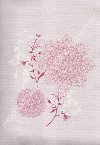 wallpaper   Wallpaper Bunga 88228-3:88228-3 corak  warna
