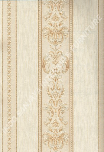 wallpaper   Wallpaper Klasik Batik (Damask) A160202:A160202 corak  warna