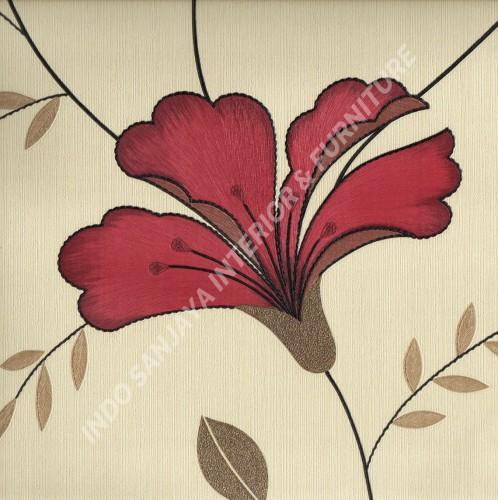 wallpaper   Wallpaper Bunga 10__RN770031:10__RN770031 corak  warna