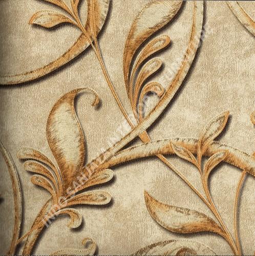wallpaper   Wallpaper Klasik Batik (Damask) 500-1:500-1 corak  warna