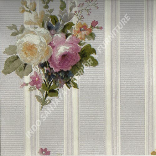 wallpaper   Wallpaper Bunga 70022-1:70022-1 corak  warna