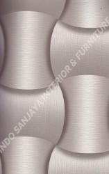 wallpaper LEVANTE:L444-04 corak Modern / 3D warna Ungu
