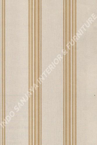 wallpaper LEVANTE:L444-68 corak Garis warna Abu-Abu ,Cream