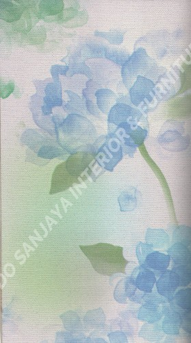 wallpaper   Wallpaper Bunga 23902:23902 corak  warna
