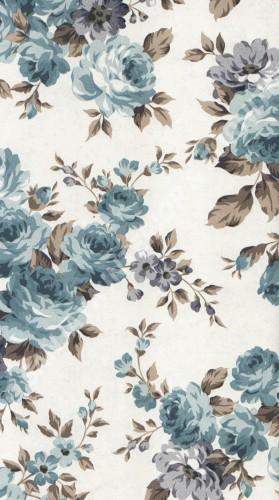 wallpaper   Wallpaper Bunga 23853:23853 corak  warna