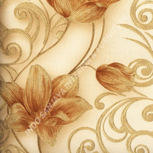 wallpaper   Wallpaper Bunga 318100:318100 corak  warna