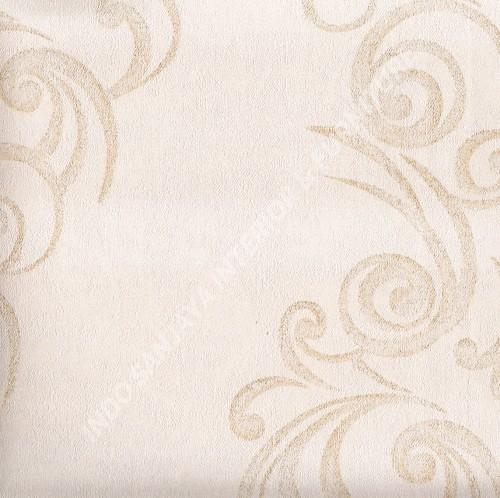 wallpaper   Wallpaper Klasik Batik (Damask) 318105:318105 corak  warna