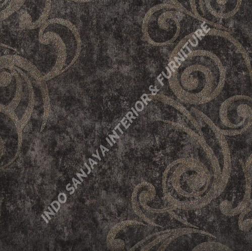 wallpaper   Wallpaper Klasik Batik (Damask) 318107:318107 corak  warna