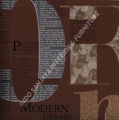 wallpaper   Wallpaper Modern 3D 318110:318110 corak  warna
