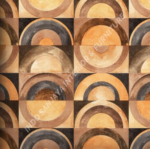 wallpaper   Wallpaper Bulat Geometri 318113:318113 corak  warna