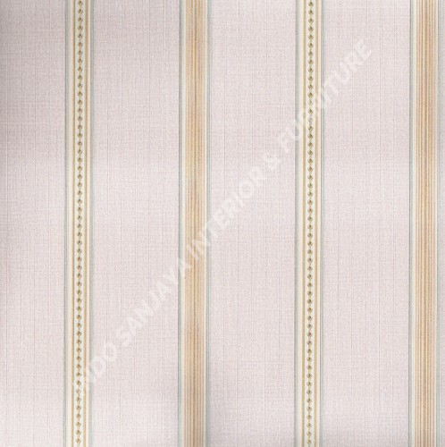 wallpaper   Wallpaper Garis 6104-3:6104-3 corak  warna