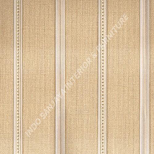 wallpaper   Wallpaper Garis 6104-4:6104-4 corak  warna