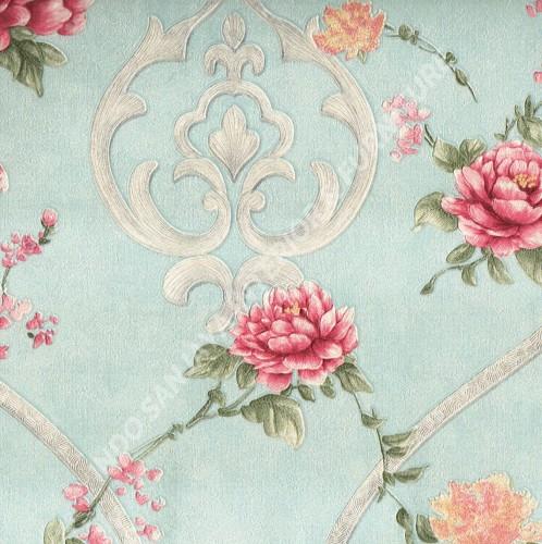 wallpaper   Wallpaper Bunga 9990279N:9990279N corak  warna