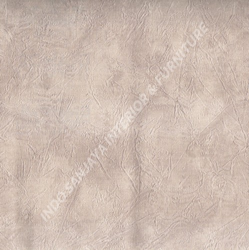 wallpaper GLAMOR:99090705 corak Minimalis / Polos warna Coklat