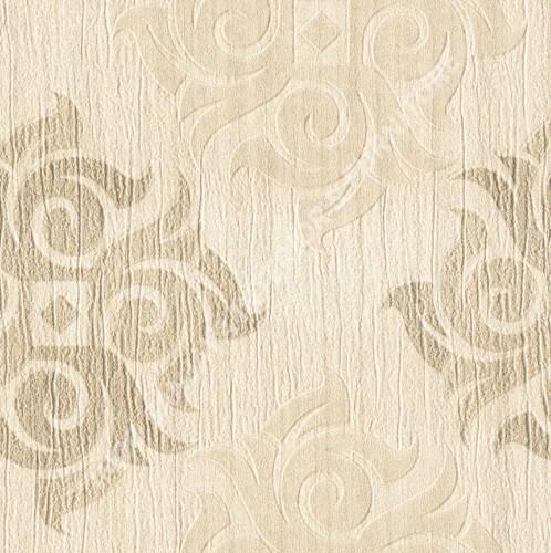 wallpaper OTTO:OT85048 corak Klasik / Batik (Damask) warna Cream ,Coklat