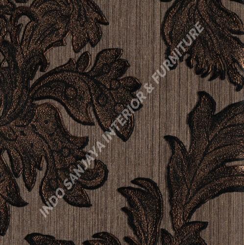 wallpaper   Wallpaper Klasik Batik (Damask) OT85042:OT85042 corak  warna